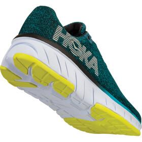 Hoka One One Cavu Running Shoes Herr caribbean sea/black